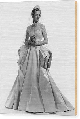 Invitation, Dorothy Mcguire, 1952 Wood Print by Everett