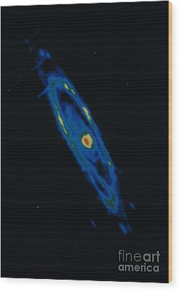 Iras Infrared Image Of The Andromeda Wood Print by NASA / Science Source