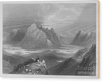 Ireland: Lough Inagh, C1840 Wood Print by Granger
