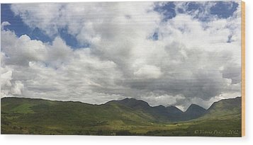 Ireland Panorama Wood Print