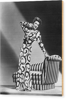 Irene Dunne, Universal Pictures Wood Print by Everett
