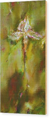 Iris 9 Beethoven Wood Print by Petro Bevza