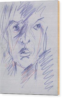 Iris Gill 1 Wood Print by Iris Gill