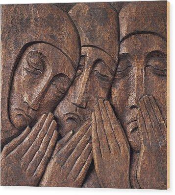Irish Jewish Museum, Portobello Dublin Wood Print by The Irish Image Collection
