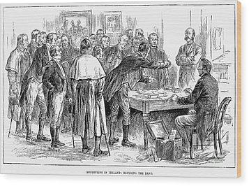 Irish Land League, 1886 Wood Print by Granger