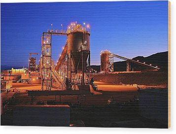 Iron Duke Mine Wood Print by David Barringhaus