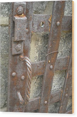 Ironworks Wood Print