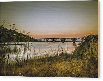Wood Print featuring the photograph Isaac Lee Patterson Bridge by Randy Wood
