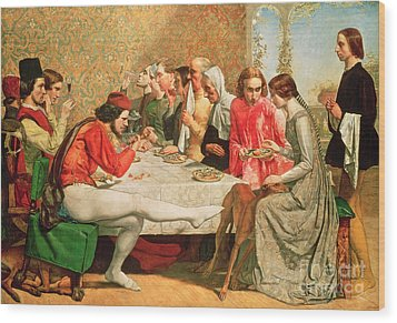 Isabella Wood Print by Sir John Everett Millais