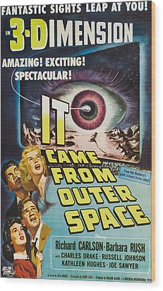 It Came From Outer Space, Kathleen Wood Print by Everett