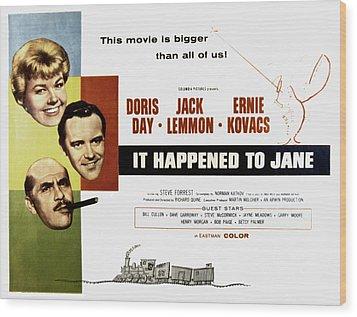 It Happened To Jane, Doris Day, Jack Wood Print by Everett