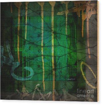 It Runneth Over Wood Print by Fania Simon