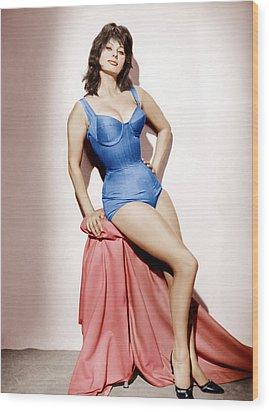 It Started In Naples, Sophia Loren, 1960 Wood Print by Everett