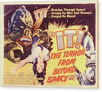 It The Terror From Beyond Space, 1958 Wood Print by Everett