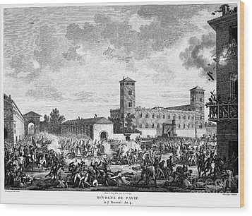Italian Campaign, 1796 Wood Print by Granger