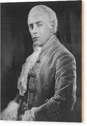 Italian Opera Singer Tito Schipa Wood Print by Everett