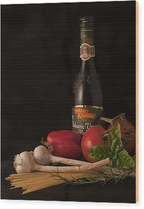 Italian Palate Number 1 Wood Print by Constance Sanders