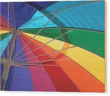 Wood Print featuring the photograph It's A Rainbow by David Pantuso