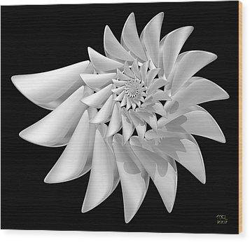Ivory Wood Print