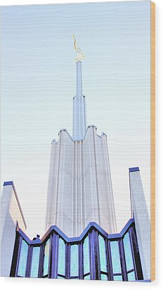 Ivory Towers Wood Print by Kenneth Mucke