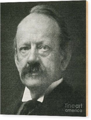 J. J. Thomson, English Physicist Wood Print by Science Source