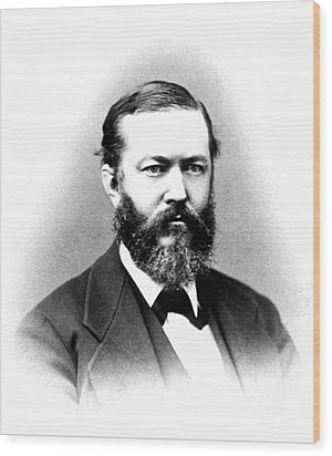 J. J. Woodward, American Pioneer Wood Print by Science Source