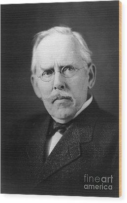 Jacob A. Riis (1849-1914) Wood Print by Granger