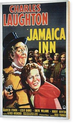 Jamaica Inn, Charles Laughton, Maureen Wood Print by Everett