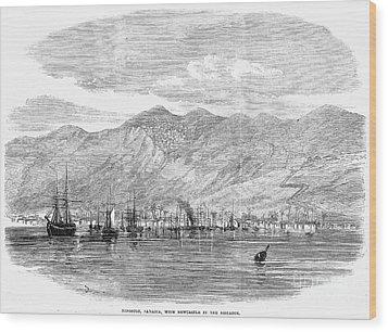 Jamaica: Kingston, 1865 Wood Print by Granger
