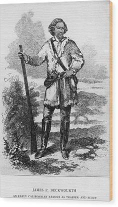 James Beckwourth, 1798�1867, African Wood Print by Everett