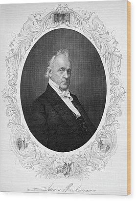 James Buchanan (1791-1968) Wood Print by Granger