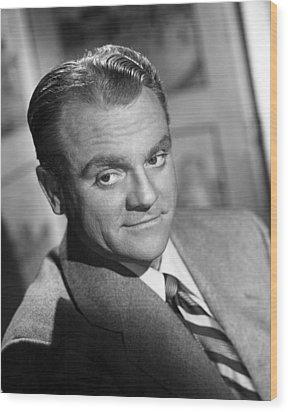 James Cagney, Portrait, 1940s Wood Print by Everett