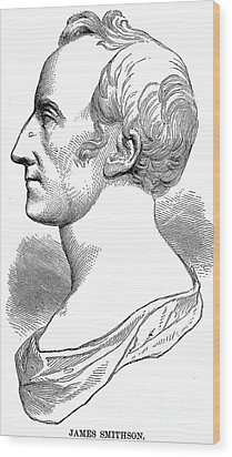 James Smithson (1765-1829) Wood Print by Granger