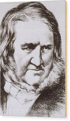 James Young Simpson, Scottish Physician Wood Print by Science Source
