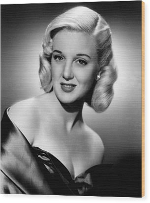 Jan Sterling, 1950 Wood Print by Everett