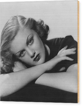 Jan Sterling, Late 1930s Wood Print by Everett