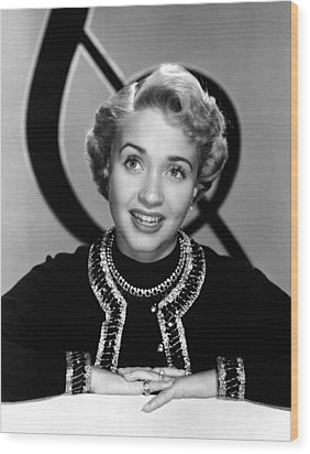 Jane Powell, Mgm, Early 1950s Wood Print by Everett