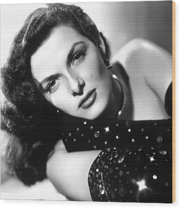Jane Russell, Ca. Late 1940s Wood Print by Everett
