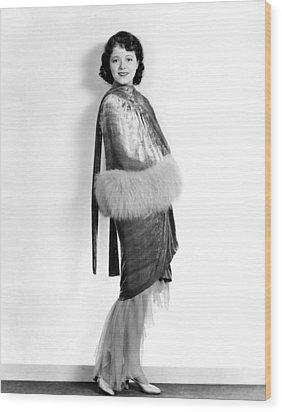 Janet Gaynor, 1929 Wood Print by Everett