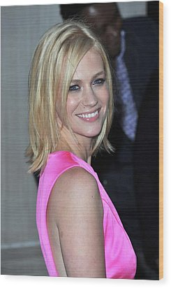 January Jones At Arrivals For Tommy Wood Print by Everett