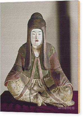 Japan: Statue, 9th Century Wood Print by Granger