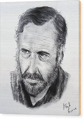 Jason Robards Wood Print