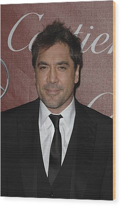 Javier Bardem At Arrivals For 22nd Wood Print by Everett