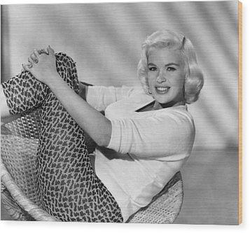 Jayne Mansfield, Ca. Late 1950s Wood Print by Everett
