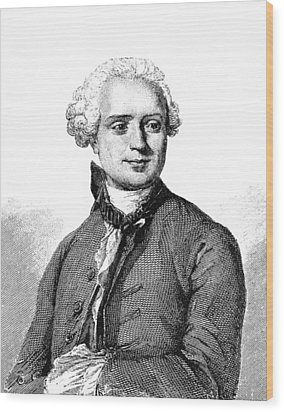 Jean D'alembert, French Mathematician Wood Print by