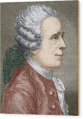 Jean D'alembert, French Mathematician Wood Print by Sheila Terry