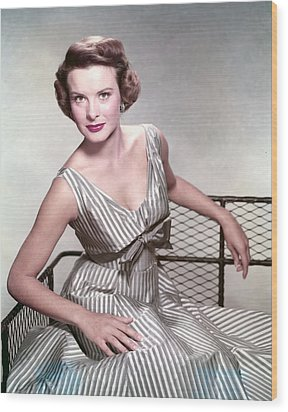 Jean Peters, In The Film, A Man Called Wood Print by Everett
