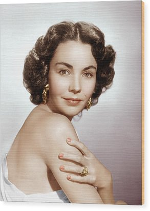 Jennifer Jones, Ca. Early 1950s Wood Print by Everett