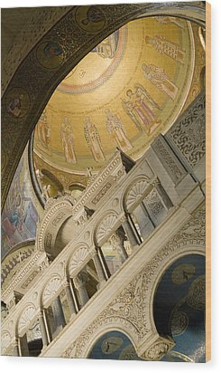 Jerusalem, Israel, Church Of The Holy Wood Print by Richard Nowitz