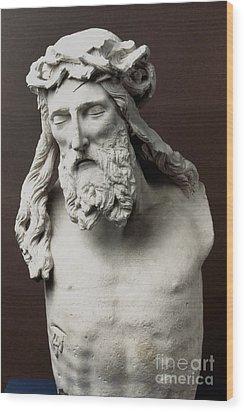 Jesus: Crucifixion Wood Print by Granger